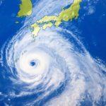 台風13号 進路予想図2018!飛行機や新幹線への影響(欠航)は?